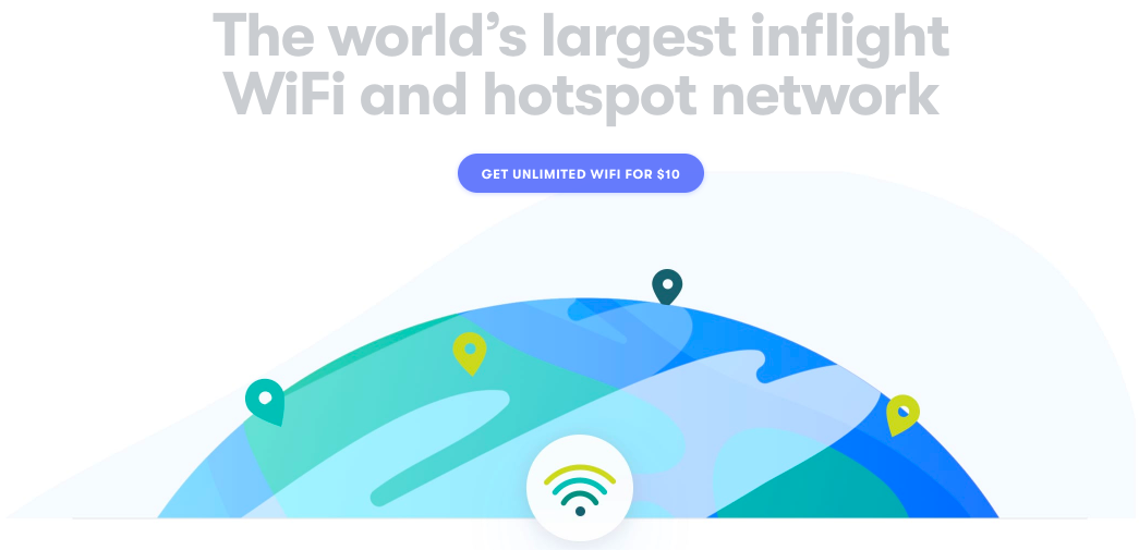 Unlimited Inflight Wi-Fi for $10 a Month ($6 for First Month