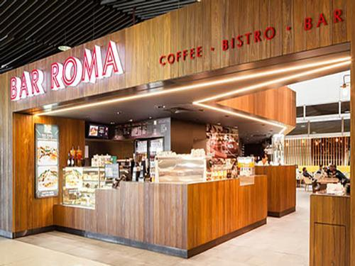 Bar Roma Brisbane Airport