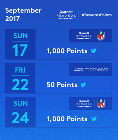 Marriott Rewards Points Twitter September 2017