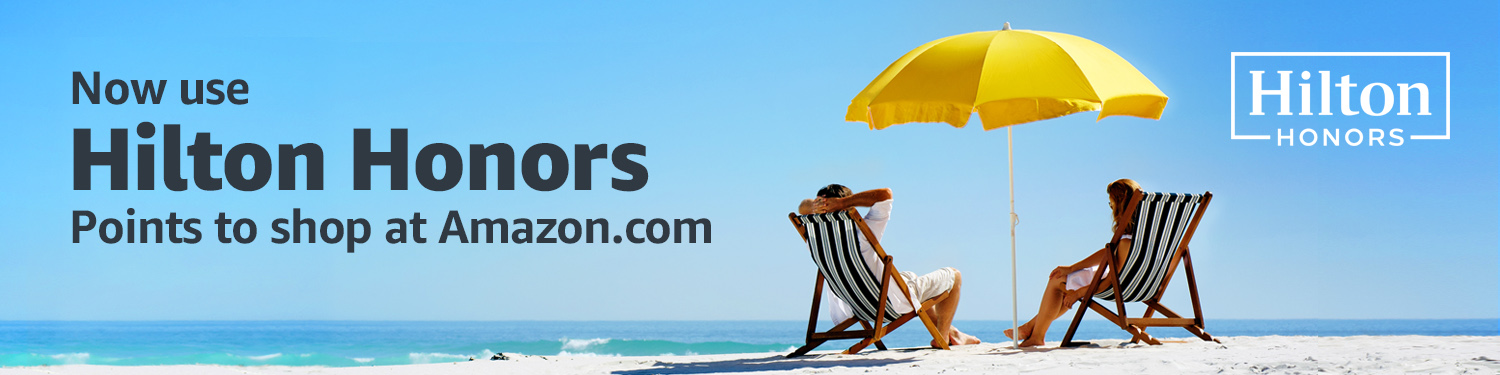 Use Hilton Honors at Amazon