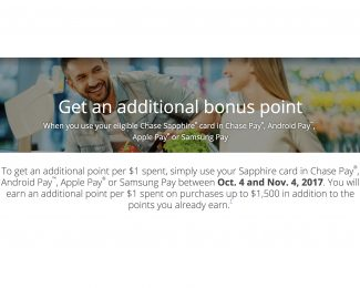 Bonus Ultimate Rewards Sapphire Cards Digital Payments - Featured