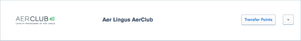 Aer Linugs AerClub Transfer Parter of Ultimate Rewards
