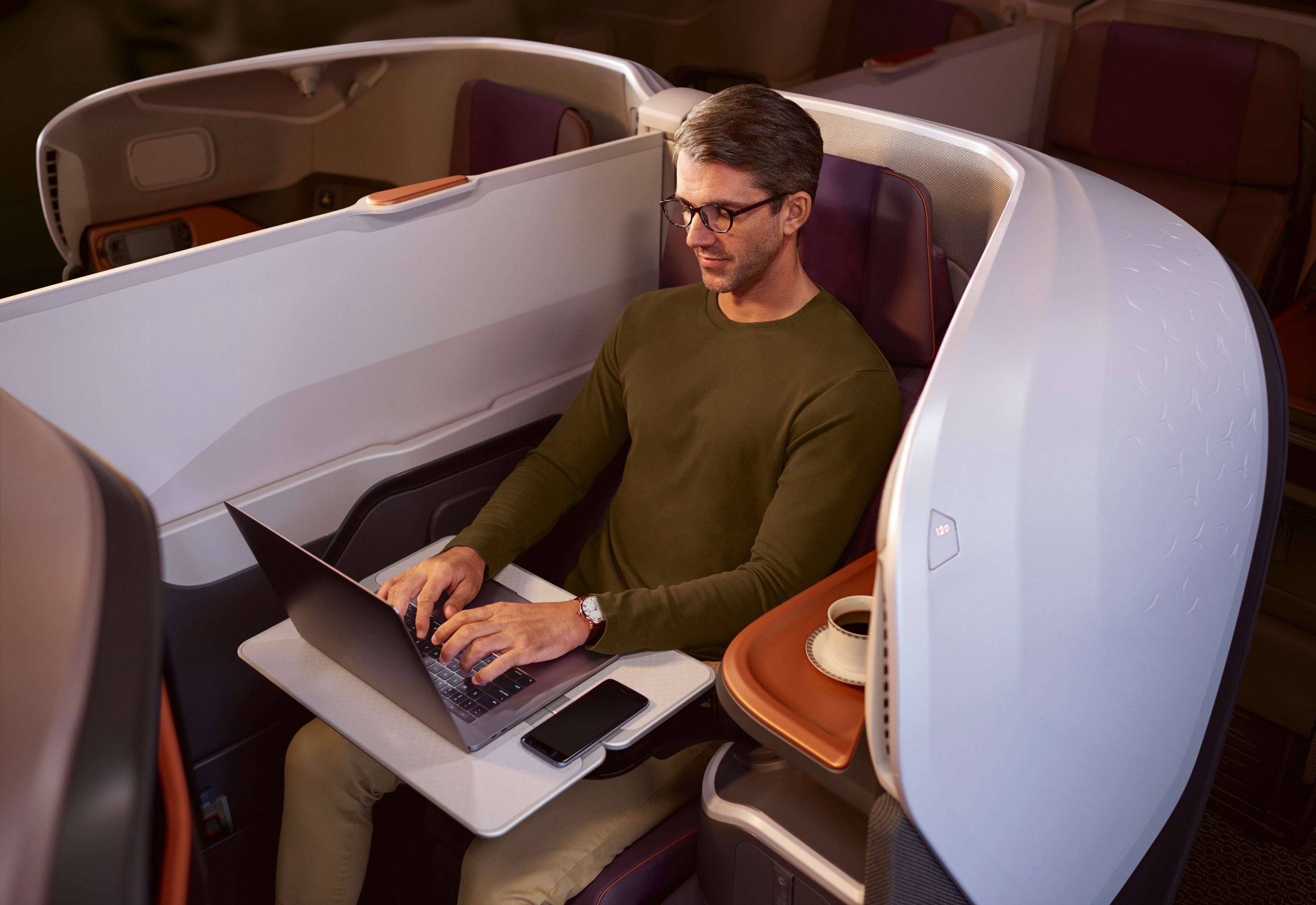 New Singapore Business Class Working