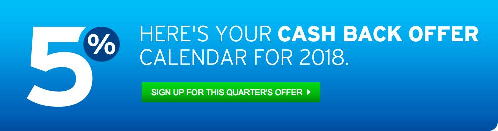 Citi Dividend 5 Percent Quarterly Bonus - Banner