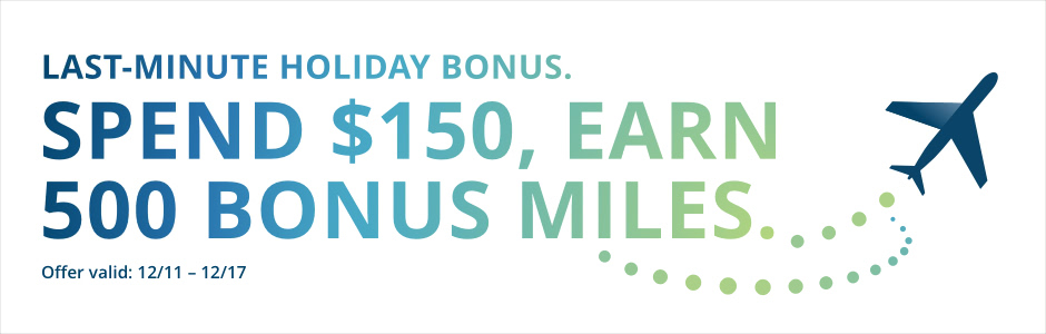 Last Minute Shopping Bonus 2017 Alaska Mileage Plan