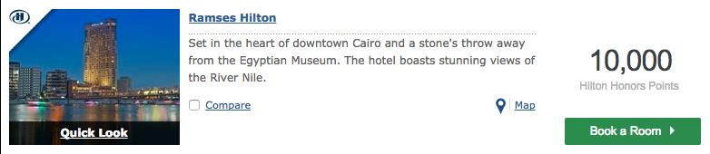 Ramses Hilton Point Redemption
