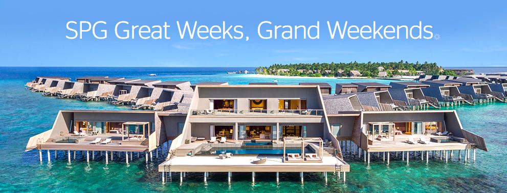 SPG Great Weeks Grand Weekends Q1 2018