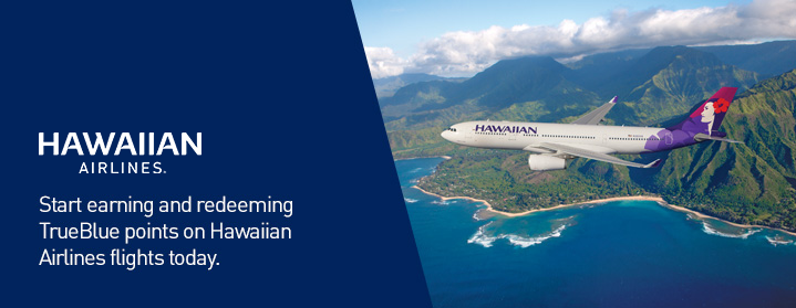 TrueBlue and Hawaiian Airlines