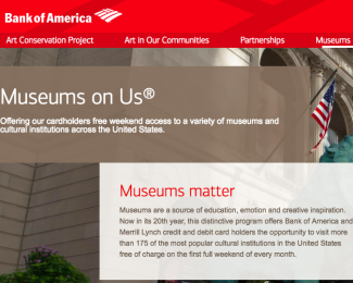 Bank of America Museums on Us 2018