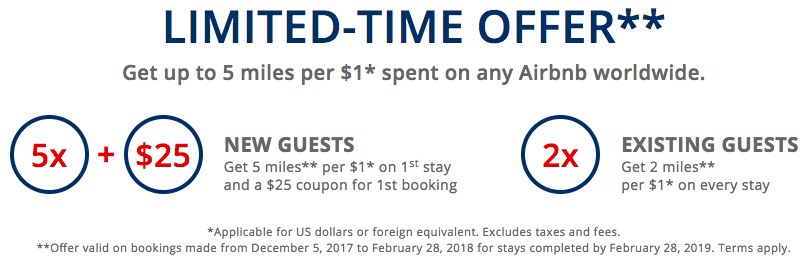 Delta Airbnb Limited-Time Offer through February 28 2018
