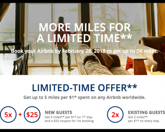 Earn 2x SkyMiles with Airbnb