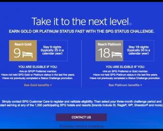 SPG Status Challenge 2018