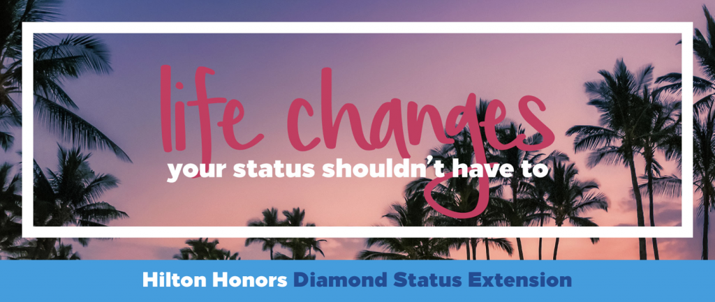 Hilton Diamond Extension Banner
