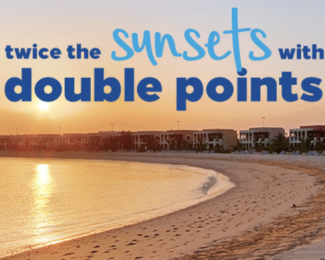 Hilton Double Points Summer 2018 Promotion Banner