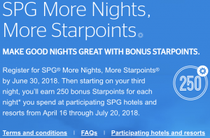SPG Summer 2018 Promotion