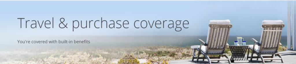 Travel & Purchase Coverage Banner