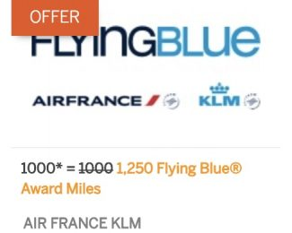 Flying Blue 25 Percent Membership Rewards Bonus June 2018