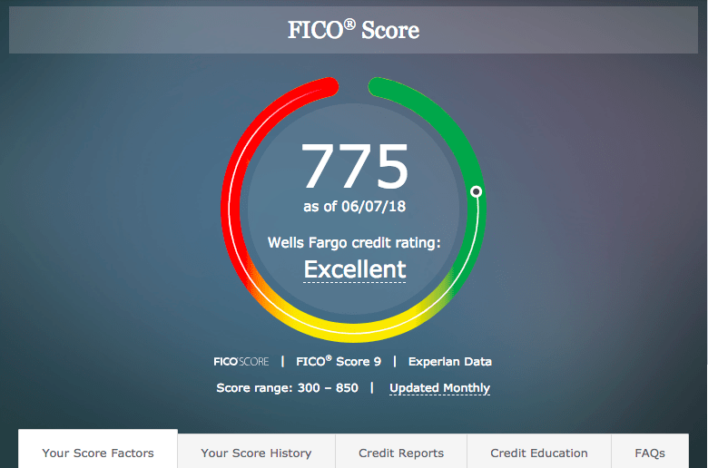 Get access to your FICO score free of charge.