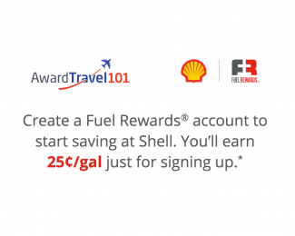 Award Travel 101 and Fuel Rewards