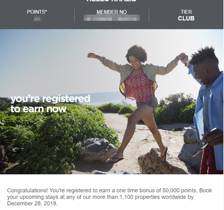50K Radisson Bonus Points Promotion