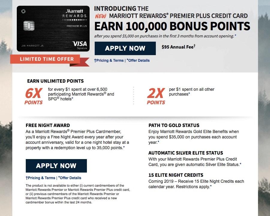 marriott rewards premier plus credit card reviews