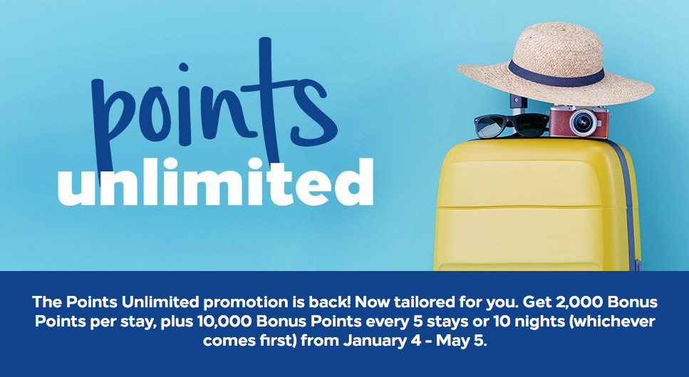 Hilton Points Unlimited Promotion