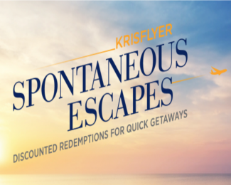 Singapore Krisflyer Spontaneous Escapes Featured
