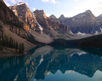 Featured: Alberta Lake, Banff National Park