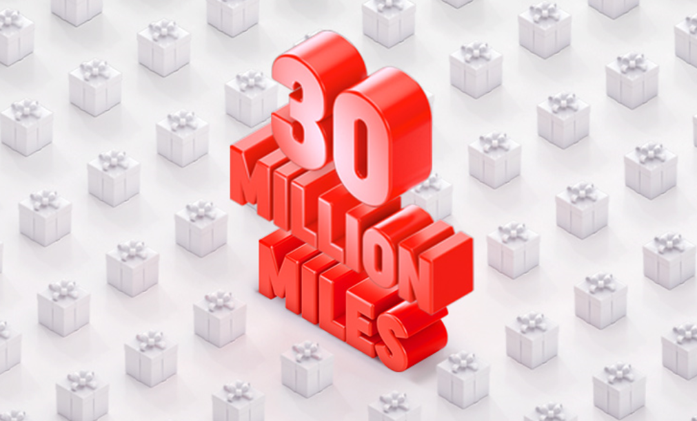 Turkish Airlines Sweepstakes: Win a Share of 30 Million Miles