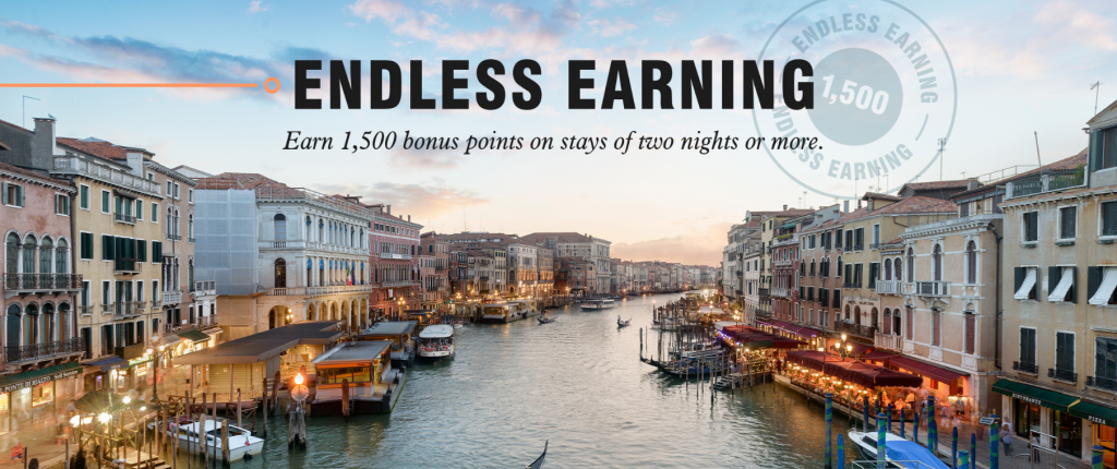 Marriott Bonvoy Endless Earning Promotion