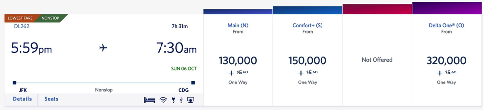 Transfer American Express points to Delta SkyMiles