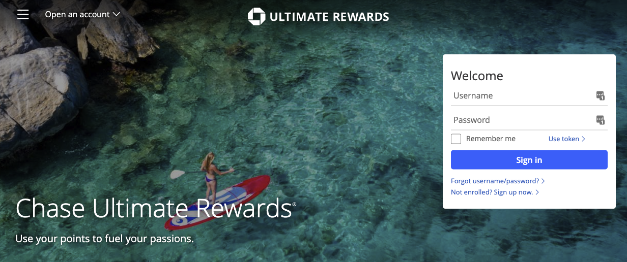 chase ultimate rewards travel portal