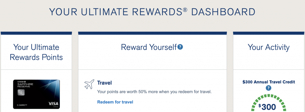 chase ultimate rewards portal