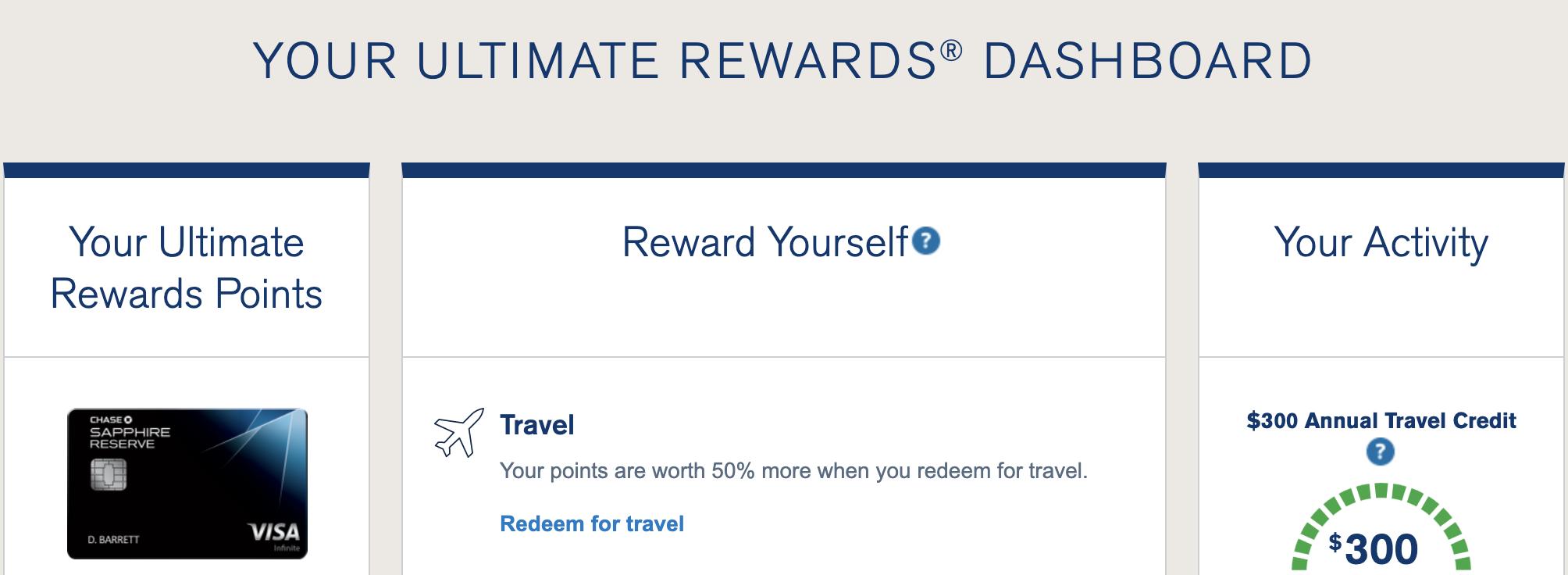 The Chase Ultimate Rewards Travel Portal - AwardWallet Blog