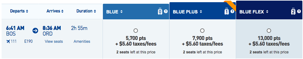 Ultimate Rewards JetBlue