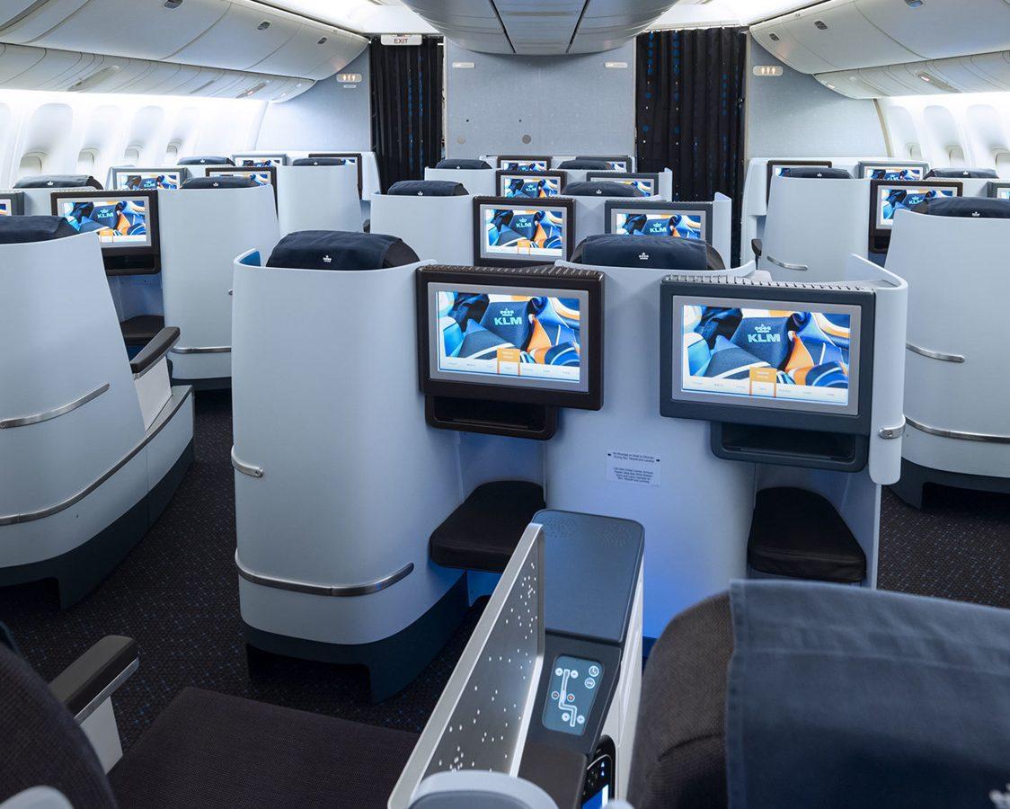 Qantas Boeing 747 400 Business Class Seat Map
