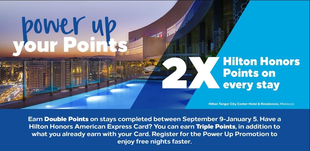 Hilton Q4 Promotion