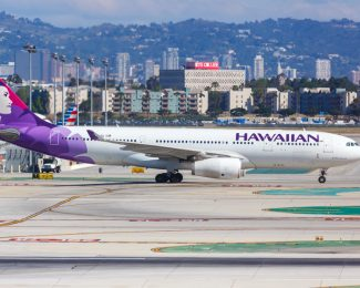 Hawaiian Airlines Airbus A330-200 Flugzeug Flughafen Los Angeles