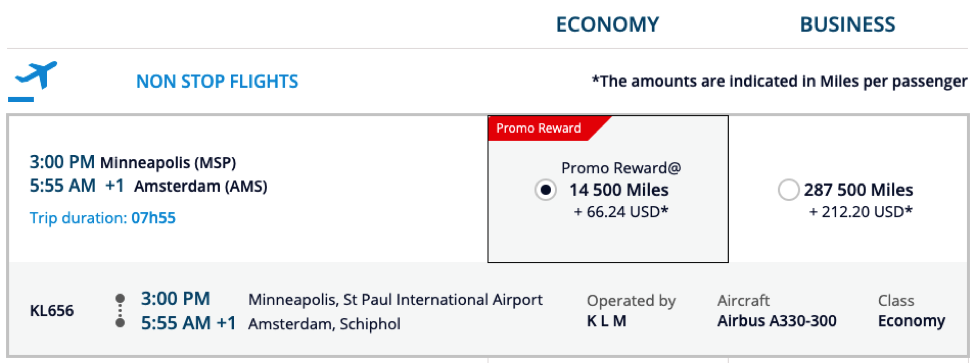 Transfer Citi ThankYou Points to Air France KLM Flying Blue