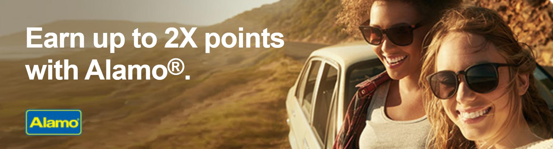 Earn 2X plus 1,200 bonus points