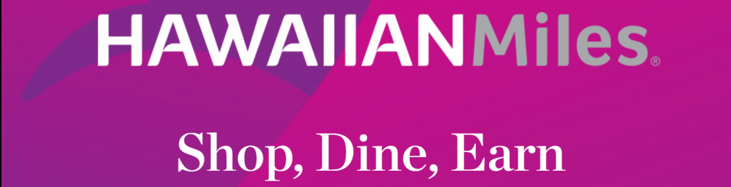 Hawaiian Airlines Dining and Shopping