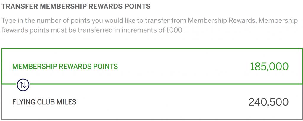30% Transfer Bonus