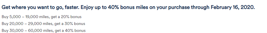 Up to 40% more miles with Alaska promotion