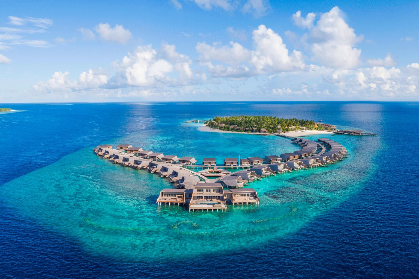 100,000 points is enough for a night at the luxurious St. Regis Maldives Vommuli Resort, even at peak pricing!