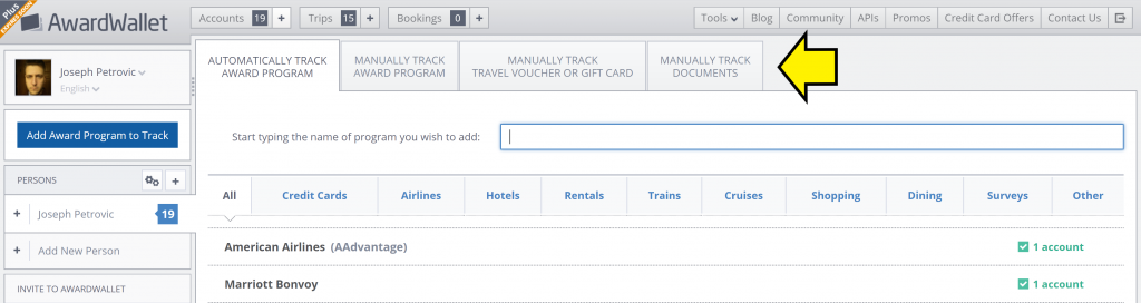 AwardWallet Now Tracks Passports