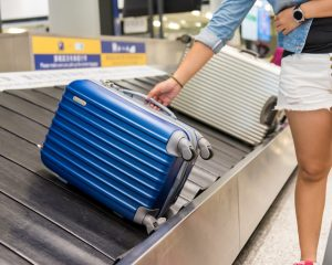 Use your Airline Fee Credit for checked bag fees