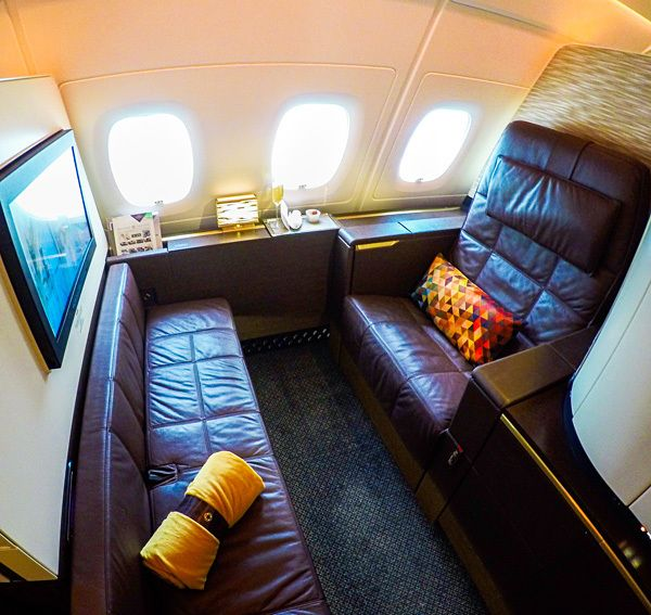 Buy American miles to fly Etihad first class