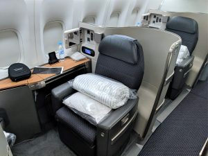 get first class upgrades with American Airlines AAdvantage elite status
