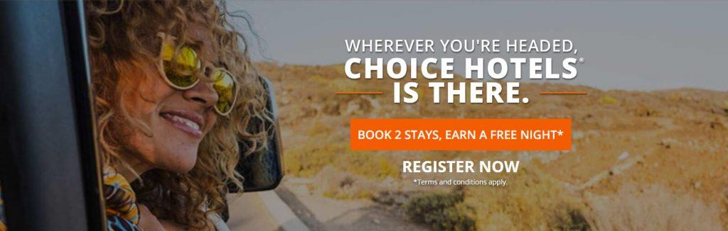 Choice Hotels Promo Info