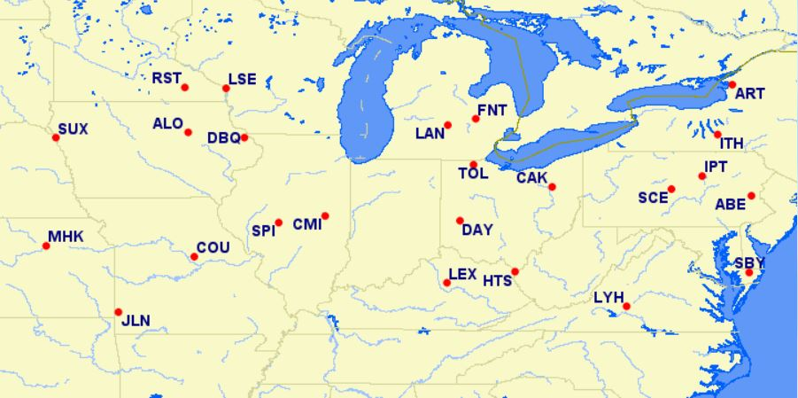 aa reduced mileage awards - northeastern US - July